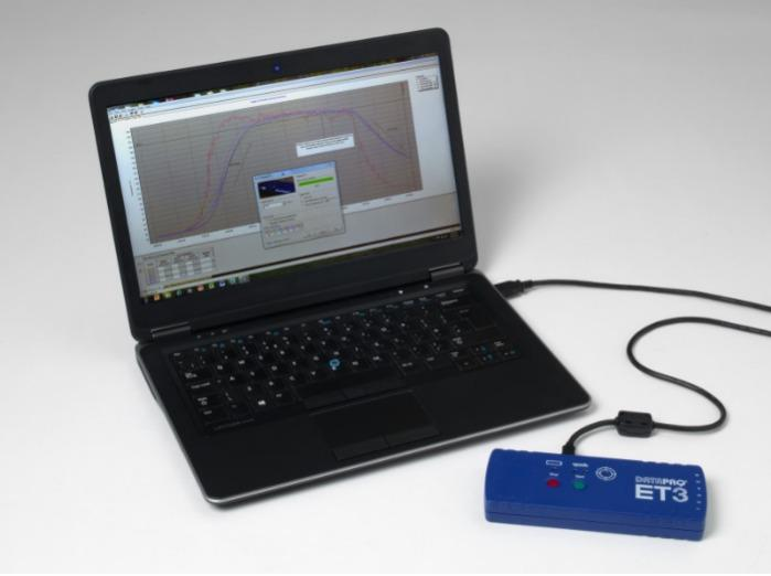 DATAPAQ ET3 Temperaturdatenlogger für Pulverbeschichtung - Datenlogger für das Temperaturprofilsystem DATAPAQ EasyTrack3