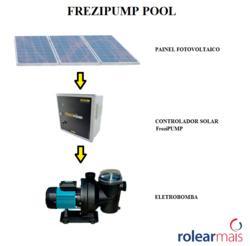 FREZIPUMP POOL - Sistema solar para recirculação de água de piscinas