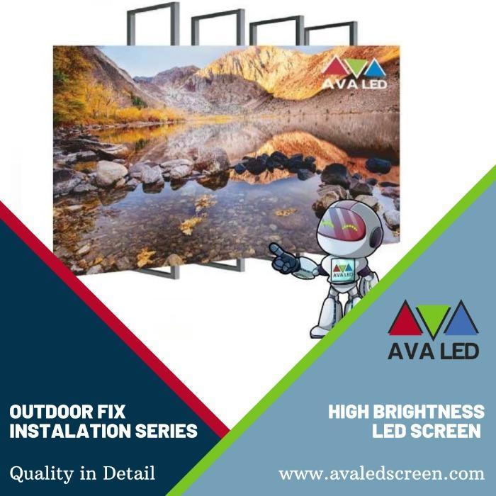 街头广告LED显示屏 - AVA LED 图腾和海报展示