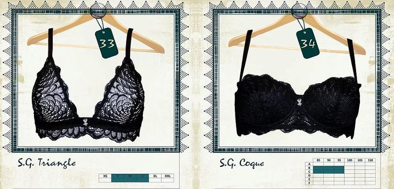 Soutien-gorge Coque et Triangle - Lingerie pour Femmes