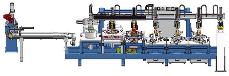 Vollautomatische Umformlinie - Sondermaschinen