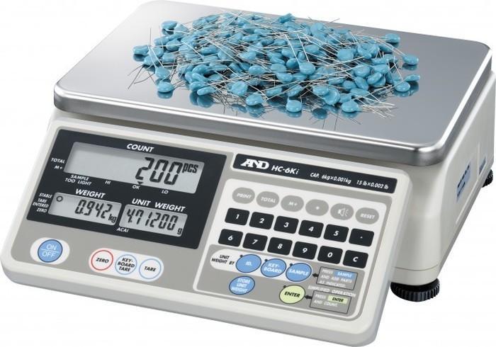 A&D Zählwaage HC-15Ki - null
