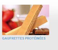 PRODUITS MINCEUR PRÊTS-A-CONSOMMER - Gaufrettes protéinées