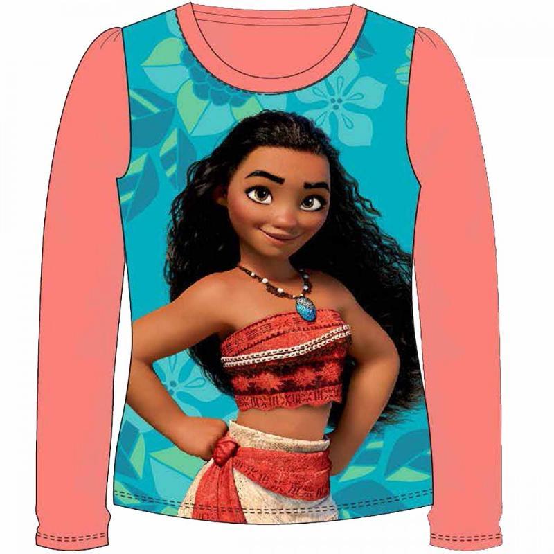 12x T-shirts manches longues Vaiana du 2 au 8 ans - T-shirt et polo manches longues