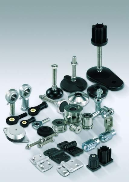 Axial joints - Axial joints for tractive forces adjustable
