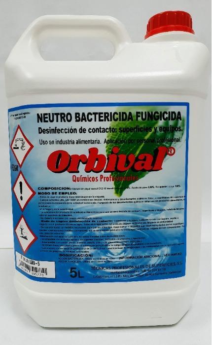 DESINFECTANTE - Desinfectante superficies bactericida fungicida