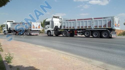 sinanli tanker-trailers - dump trailes