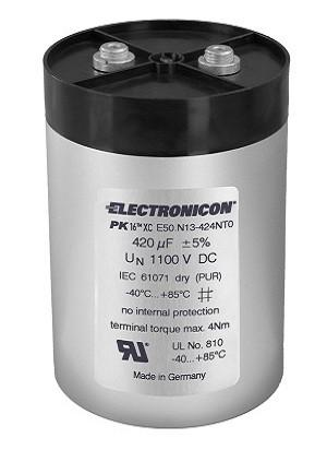 E50 PK16™ DC capacitor - Ideal for your high current DC circuit