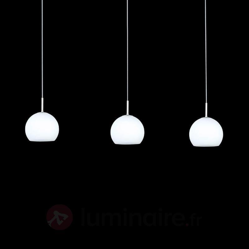Suspension décorative Bolero à 3 lampes - Suspensions en verre