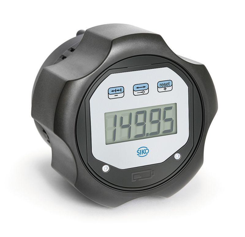 电子式调节旋钮 DKE01 - 电子式调节旋钮 DKE01, 可自由编程的