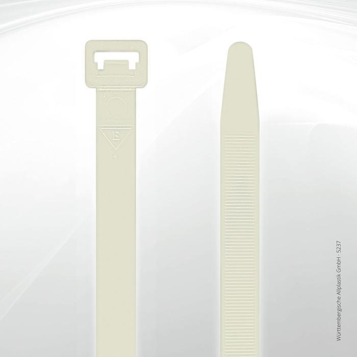 Allplastik-Kabelbinder® cable ties, standard - 5237 (natural)
