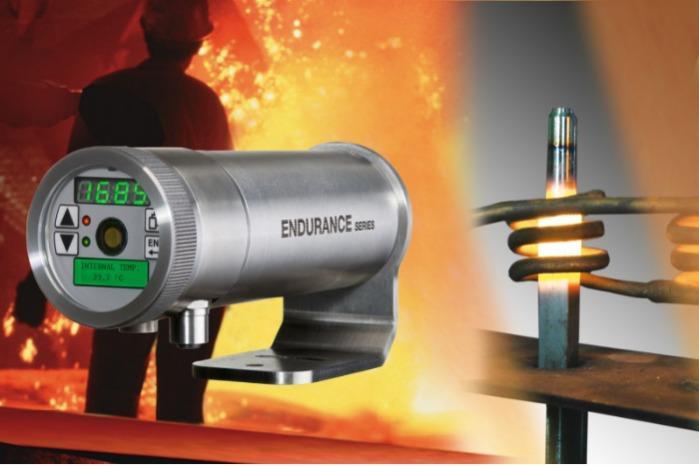 Endurance Hochtemperatur-Quotientenpyrometer - Berührungslose Zweifarb-Infrarotsensoren für Messtemperaturen 250 °C – 3.200 °C