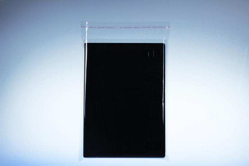 Cellophanhülle für DVD Box - selbstkleb. Verschluss -... - Cellophanhüllen/Case-Wraps