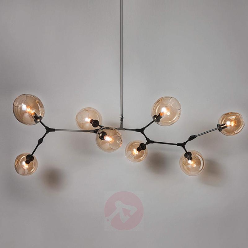 Designer LED pendant light Globe, 8-bulb - indoor-lighting