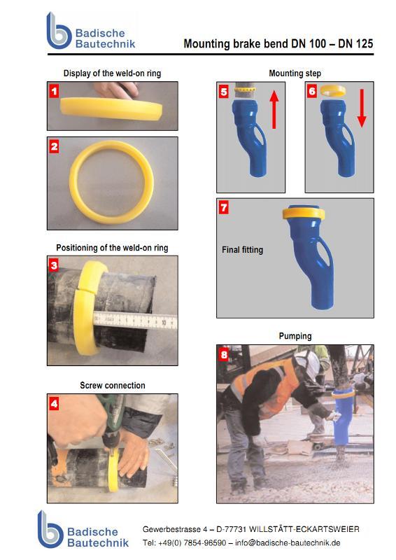 Brake bend - Brake bends VB system