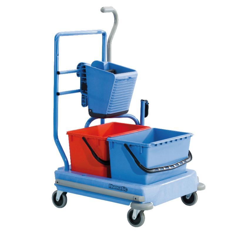 Reinigungswagen adaptierbar - Hygiene- & Putzwagen