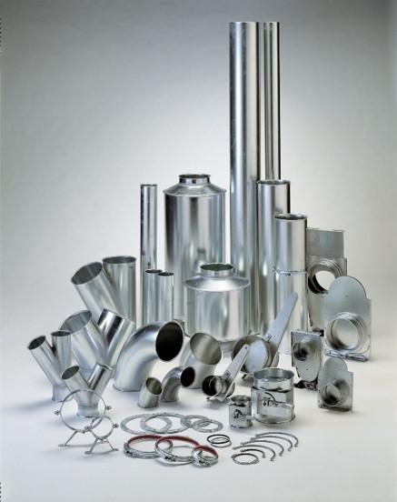 Tuyauterie  - Dans une installation globale de dépoussiérage, filtration et stockage