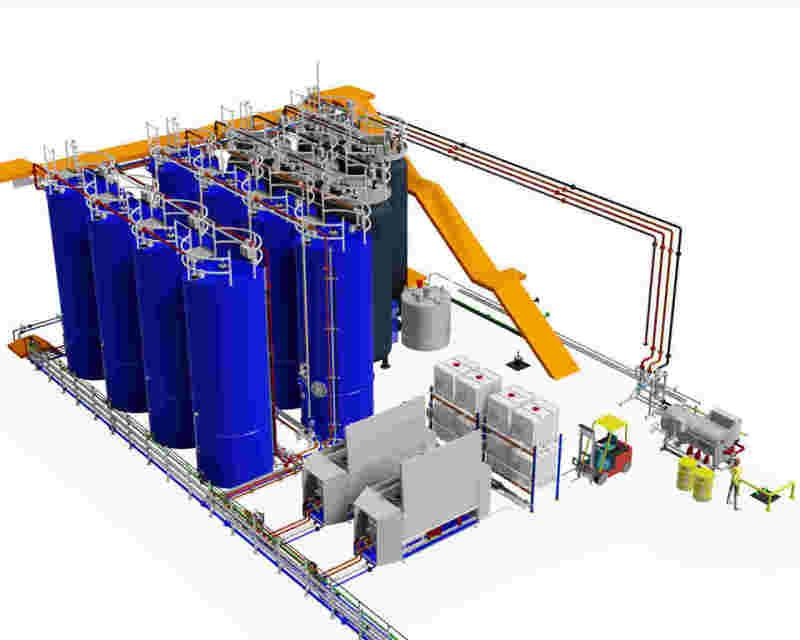 Physico-Chemical WWTP / Waste Water Technology - Physical / Chemical Wastewater Treatment Plant for Industrial Effluents