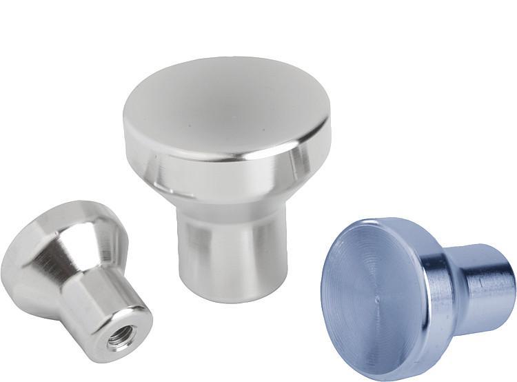 Mushroom Knobs stainless steel, inch - K0250 Inch