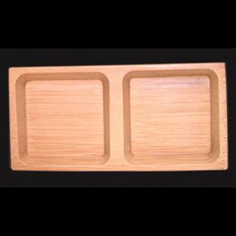 B14 Plate square – double 8pcs/set - null