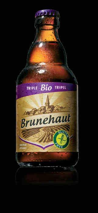 Bières biologiques - Brunehaut Triple -
