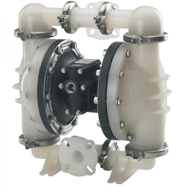 "Double diaphragm pump 1 1/2"" made of PVDF (bolted version) - Non-Metallic Version"