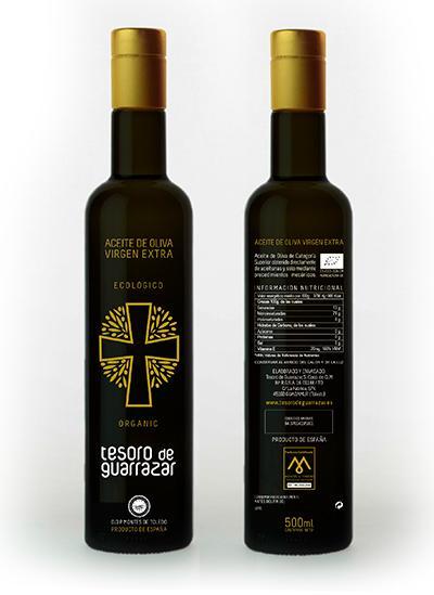 Aceite de Oliva Virgen Extra D.O Ecológico - Oliva Virgen Extra ecológico