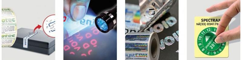 Étiquettes de sécurité - Stickers personnalisé et étiquettes