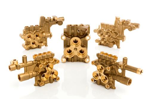 Brass Manifolds  - Brass Hot Forged Manifolds