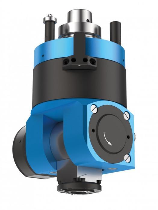 Adjustable angle head FLEX5+C / 5-Motion Plus (automatic) - CNC unit for machining of wood, composites and aluminium