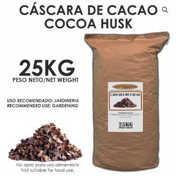 Cáscara de Cacao - Tienda online Shop - Cacao y Derivados - Tienda online Shop