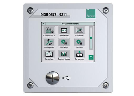 DIGIFORCE® 9311 - DIGIFORCE®9311 是burster测量技术专家的经济质量控制新标准。