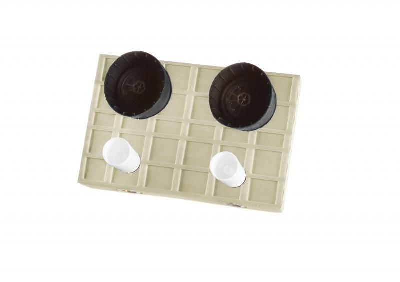 Warm-/ Kaltwasserzähler 25-WZ2-M - SANHA®-Box - Einbaubox Warm-/ Kaltwasserzähler