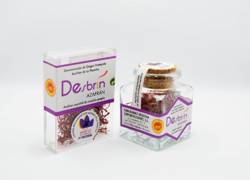 DESBRÍN MINI CUBE - ENVASE DE 0,5 GRAMOS Y 1 GRAMO