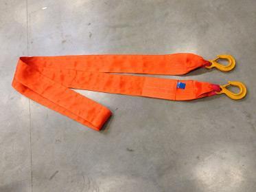 Flat polyester slings. - 2-leg/3-4 leg