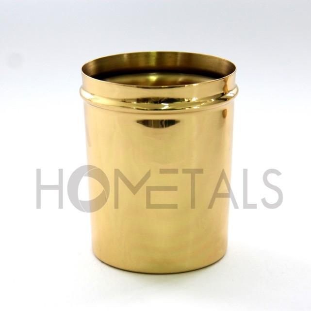 Scented Candles in Candle Containers with Lid - Candle containers with lid