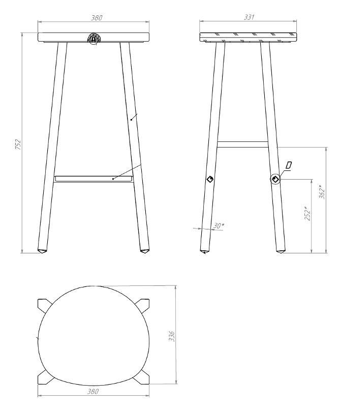Bar chair - Restaurant