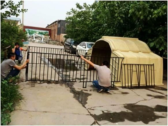 Group Calves shelter / group calf hutches - calf pen,calf hut