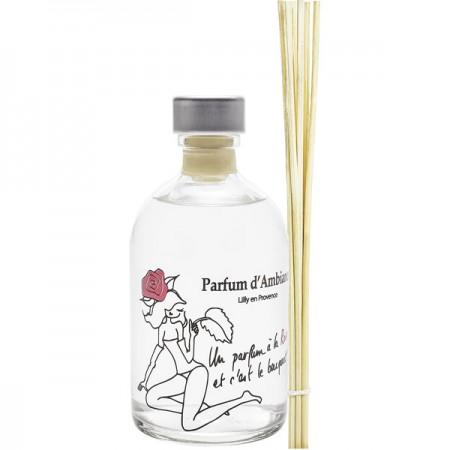 Parfum d'ambiance - Diffuseur d'ambiance Rose 100ml