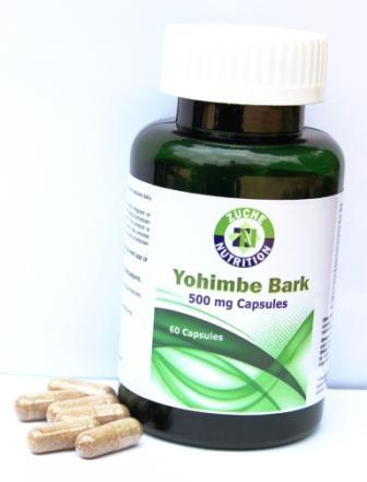 Yohimbe Bark Capsules