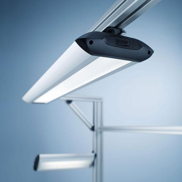 Workplace-System Luminaire TAMETO (on top, fixed) - Workplace-System Luminaire TAMETO (on top, fixed)