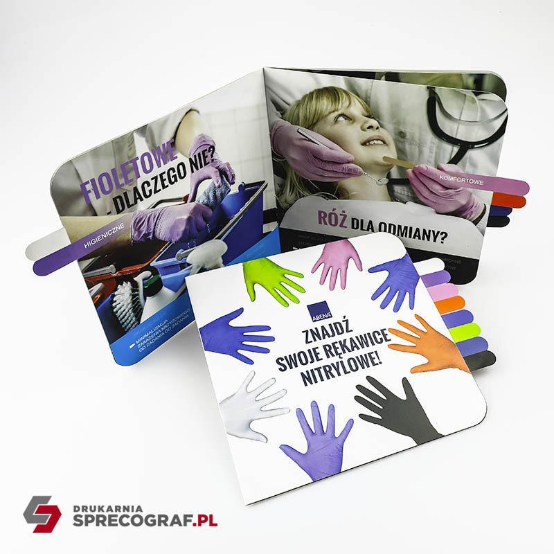 Czasopisma, gazety reklamowe, broszury - Oprawa zeszytowa, format A4, A5 lub niestandardowy