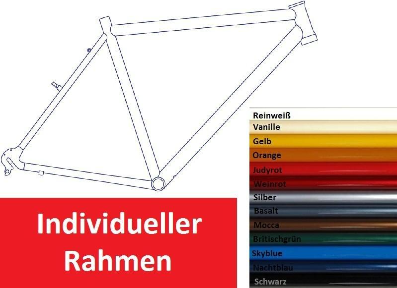 "Rahmen-Set - Rahmen-Set 28"" Alu Cross Light"