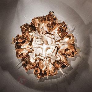 Ravissant plafonnier Veli en cuivré, 53 cm - Plafonniers design