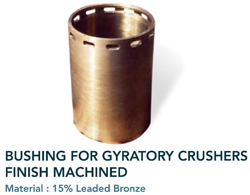 Bushing, Carter bushing, eccentric bushing - Cement & mining industry - gyratory crushers