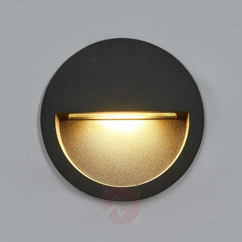 Round led recessed wall light loya brick lights lights germany round led recessed wall light loya brick lights aloadofball Choice Image