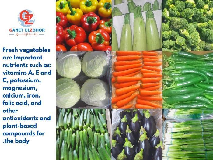 Египетские овощи - Органический