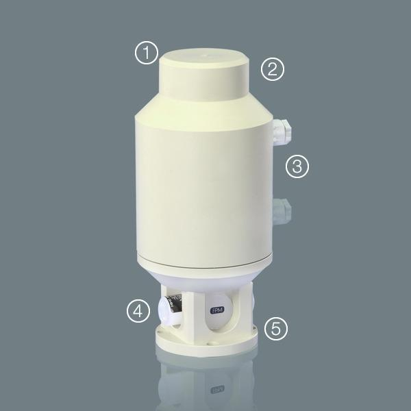 ball valves - Ball Valves 6G with electrical actuator (STANDARD)