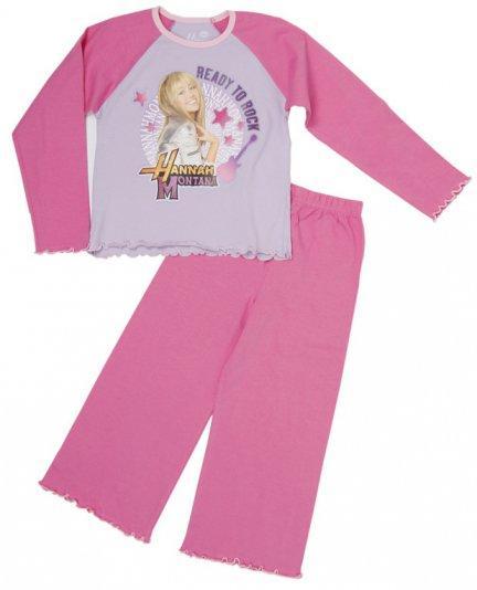 Piżama z gwiazdą Disney'a, z Hannah Montana Jasnoróżowy - null