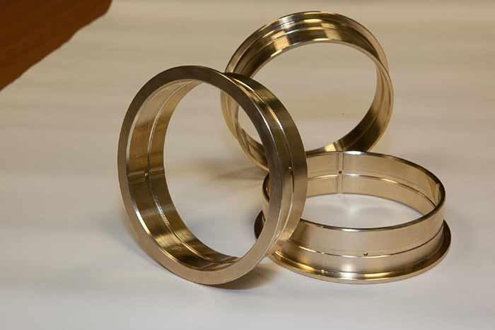 Friction bushings in aluminium bronze  -